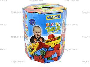 Детский игровой конструктор, 102 элемента, 41290, toys.com.ua