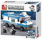 Детский игровой конструктор «Полиция», M38-B0188