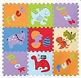 Детский игровой коврик - пазл «Развлечения динозавров», GB-M1602, фото