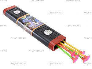 Детский игровой лук со стрелами, 3402, детские игрушки