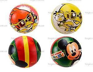Детский игровой мяч «Герои мультфильма», BT-PB-0028
