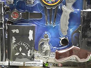 Детский игровой набор для детей «Полицейский», 900-5, фото