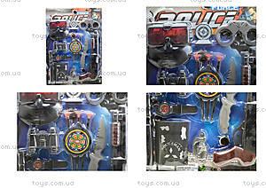 Детский игровой набор для детей «Полицейский», 900-5