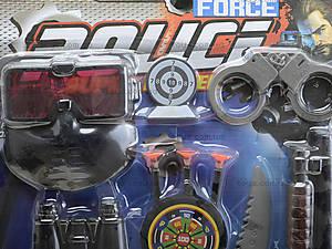 Детский игровой набор для детей «Полицейский», 900-5, цена