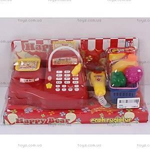 Детский игровой набор «Кассовый аппарат», 009A