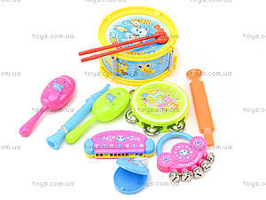 Детский игровой набор «Музыкальные инструменты», 5515, отзывы