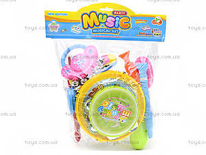 Детский игровой набор «Музыкальные инструменты», 5515, цена