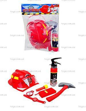 Детский игровой набор «Пожарник», 5022A