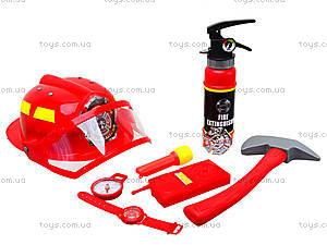 Детский игровой набор «Пожарник», 5022A, игрушки