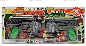 Детский игровой набор полицейского, с мишенями, 5800-43B