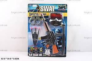 Детский игровой набор полицейского «SWAT», 007-30