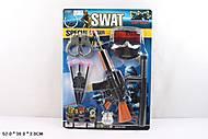 Детский игровой набор полицейского «SWAT», 007-30, купить