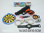 Детский игровой набор «Полиция», 846-B1, фото