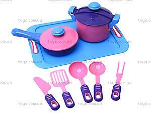 Детский игровой набор посуды, 04-427, купить