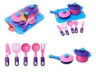 Детский игровой набор посуды, 04-427, отзывы