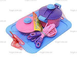 Детский игровой набор посуды, 04-427, цена