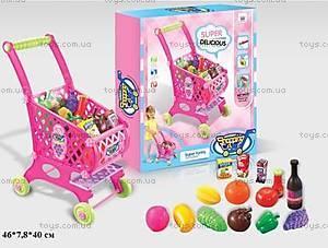 Детский игровой набор «Тележка с продуктами», W051W061, купить