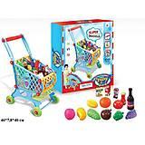 Детский игровой набор «Тележка с продуктами», W051W061