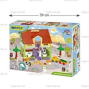 Детский игровой набор «Ветеринарный домик», 25460, игрушки