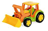 Детский игровой трактор «Гигант», 66005