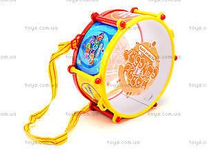 Детский игрушечный барабан, 808, фото