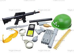 Детский игрушечный набор «Полицейский» с каской, 0055-M4, отзывы