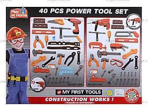 Детский игрушечный набор инструментов, 661-306307, купить