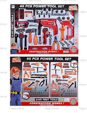Детский игрушечный набор инструментов, 661-306307