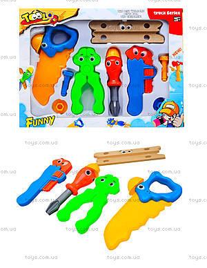 Детский игрушечный набор «Инструменты мастера», JJ008