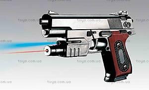 Детский игрушечный пистолет с лазерным прицелом, 238B, купить