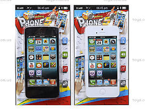 Детский игрушечный смартфон, 6098-21, фото