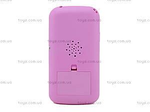 Детский игрушечный телефон со звуковым эффектом, JD-102A, фото