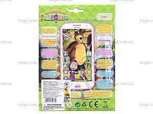 Детский игрушечный телефон со звуковым эффектом, JD-102A, игрушки