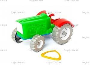 Детский игрушечный трактор «Шустрик-колхозник», 1063