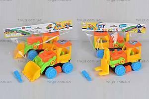 Детский игрушечный трактор «Собери сам», 2016-1ABC
