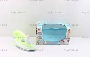 Детский игрушечный утюг для девочек, 6940A