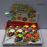 Детский игрушечный заводной паровозик, 632, отзывы