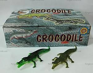 Детская игрушка-пищалка «Крокодил», H9708W