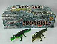 Детский игрушка-пищалка «Крокодил», H9708W, фото