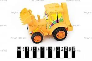 Детский инерционный трактор «Фермер», 4020