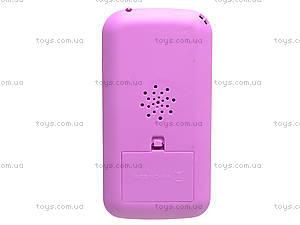 Детский интерактивный телефон «Кот Том», DB1883G2, детские игрушки