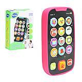 Детский интерактивный телефон розовый HOLA (3127), 3127, отзывы
