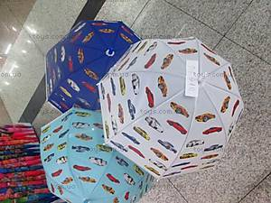 Детский зонтик купол «Машинки», D15916