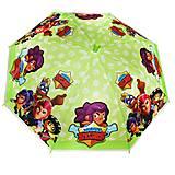 Детский зонтик-трость салатовый, MK 4565, отзывы