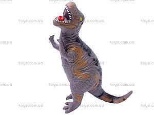 Динозавр резиновый, 6 видов, 2404, детские игрушки