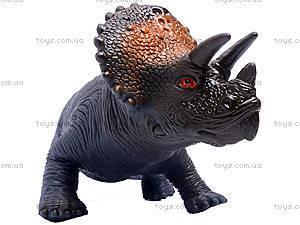 Динозавр резиновый, 6 видов, 2404