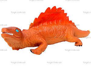 Динозавр резиновый, 6 видов, 2404, toys.com.ua