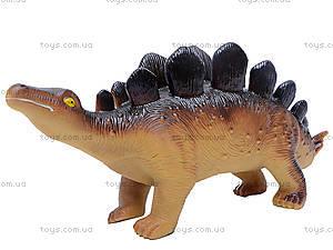 Динозавр резиновый, 6 видов, 2404, toys
