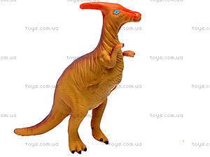 Динозавр резиновый, 6 видов, 2404, іграшки