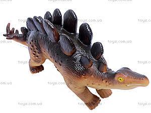 Динозавр резиновый, 6 видов, 2404, детский